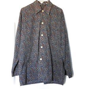Derek Rose Pajama Shirt